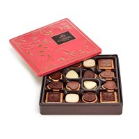 巧克力饼干礼盒 含新年快乐礼带 46块装