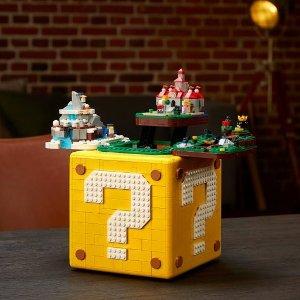 $7.99起+VIP加赠小飞车新品上市:LEGO官网 十月一日新品扎堆,电吉他 问号块 款款吸睛