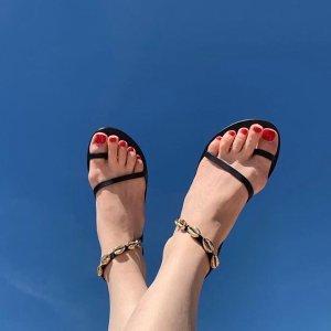 低至2折+部分额外8折Bergdorf Goodman 夏日美鞋热卖,收编织凉鞋