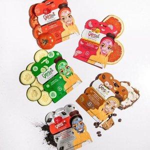 $8折 $3收番茄排毒清洁面膜天然小众护肤品牌 Yes To 护肤、面膜精选热卖