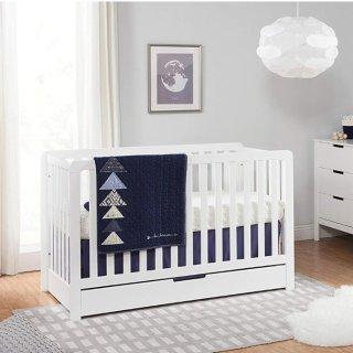 低至$169Carter's by DaVinci 多功能婴幼儿床,婴儿床变至全尺寸床