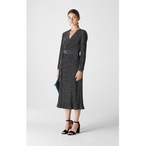 WhistlesMaia Sparkle Wrap Dress