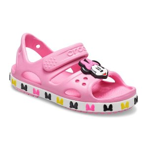 低至7折+额外8折 拖鞋$14+Crocs官网 儿童促销鞋履Labor Day大促