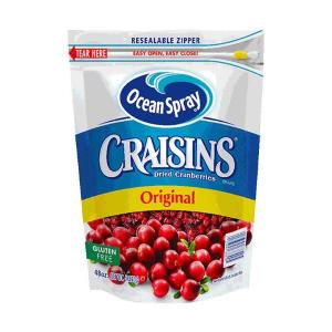 $7.97酸酸甜甜Ocean Spray Craisins天然蔓越莓干 48oz(1.36kg)