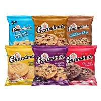 Grandma's 曲奇饼干 多种口味混合装, 30袋装