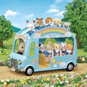 低至2.4折 新入史低价餐厅$10.99史低价:Calico Critters 森贝尔家族超萌动物玩具特价,$4.59收时尚展示台