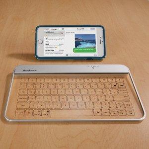 $39.99Transparent 无线蓝牙玻璃触摸键盘