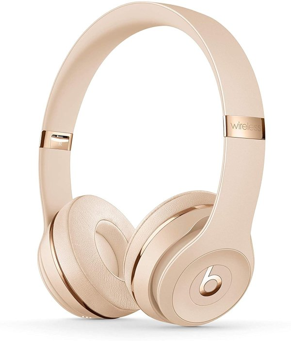 Solo3 Wireless 头戴式蓝牙无线耳机 香槟金