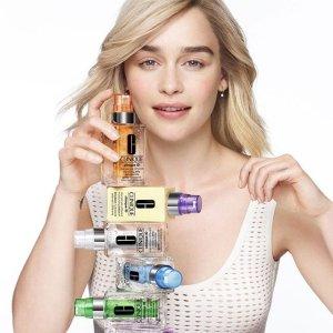 满$45送6件套限今天:Clinique 针对性护肤 收iD活芯乳 安瓶级护肤