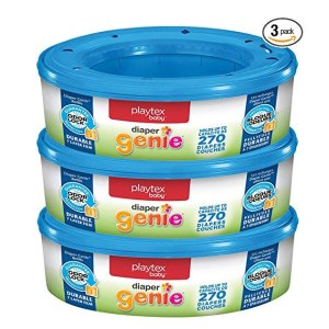 $22.06 for 2 SetsPlaytex Diaper Genie Refills for Diaper Genie Diaper Pails - 270 Count (Pack of 3)