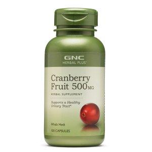 Ending Soon: $11.99GNC HERBAL PLUS® CRANBERRY FRUIT 500MG 100 Capsules