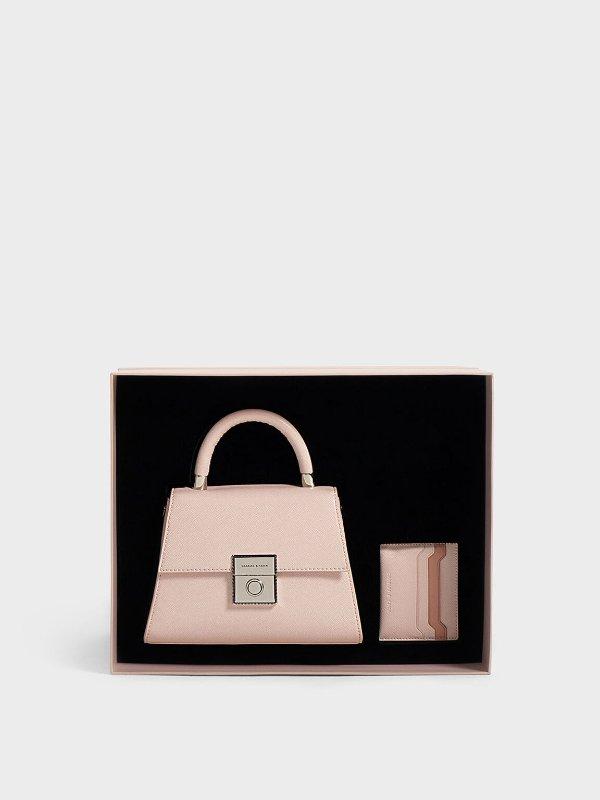 手提包+卡包 礼盒套装