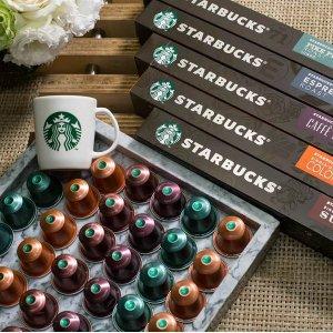 低至7.5折 胶囊£0.28/颗Starbucks星巴克 胶囊咖啡降价热卖 在家工作学习必不可缺