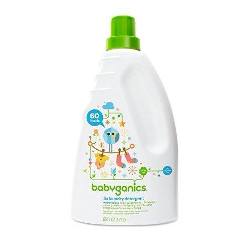3倍超浓缩婴儿洗衣液,无味,60oz