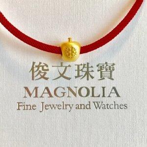 24K 3D硬金类8.5折 宝石类满额直减$50丽兴恒生珠宝首饰母亲节献礼优惠