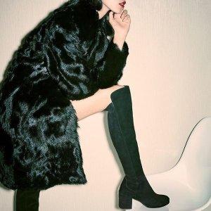 低至5折+额外7折 秒变大长腿Stuart weitzman 超多经典款靴子、一字带鞋热卖