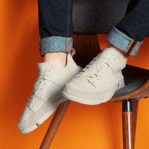 三瓣鞋低至¥278Clarks 大促专场4折起 限时叠加额外9折