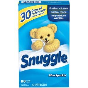 $2.37Snuggle 清香衣物烘干纸 80张