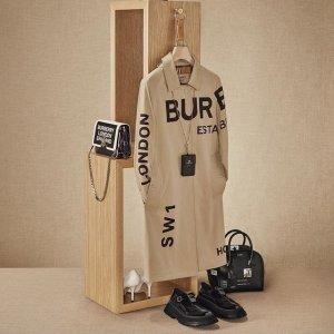 低至3折 £174收新款logo丝巾Burberry 秋冬美衣折扣悄悄上线 早囤早安心