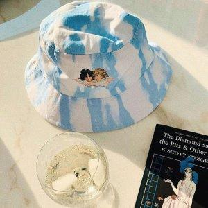 新品8折 €44收渔夫帽Fiorucci官网 春季上新 浓浓田园风 超适合度假穿 小天使等你来