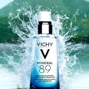 无门槛7折 £17收火山能量瓶!Vichy 薇姿全场热促!收89精华、胜肽玻尿酸安瓶!