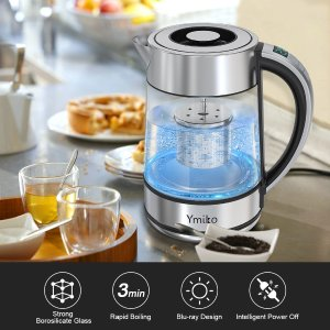 Electric Kettle, 1.7L BPA-Free Temperature Control Kettle
