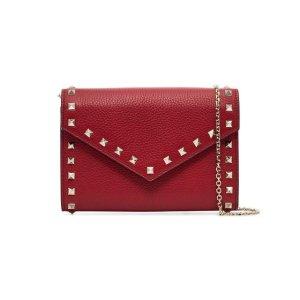 Valentino铆钉链条包