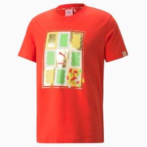 Pumax HARIBO 红色印花短袖