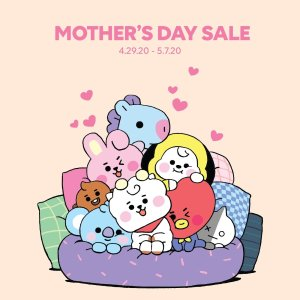 20% Off + Free Post CardLINE FRIENDS Mother's Day Special Sale