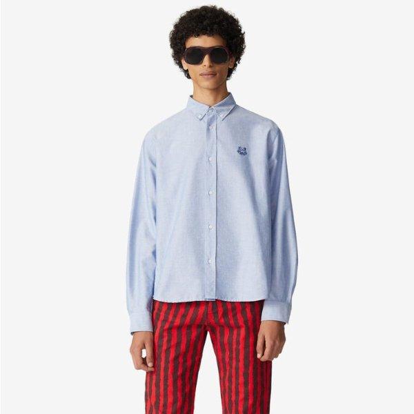 刺绣休闲衬衫