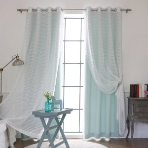 Best Selling Aurora Home Mix and Match Curtains @ Overstock