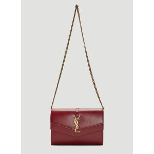 Saint LaurentSulpice Chain Wallet Bag in Red