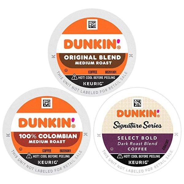 Dunkin' 综合口味咖啡胶囊 60颗