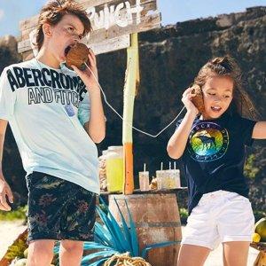 30-50% OffBest of Summer Sale @ abercrombie kids