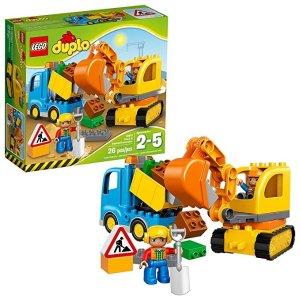 LegoDUPLO Town Truck & Tracked Excavator 10812