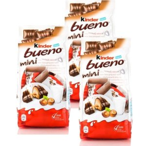 $16.93Kinder Bueno Mini, 108g/3.81oz, (Pack of 3)