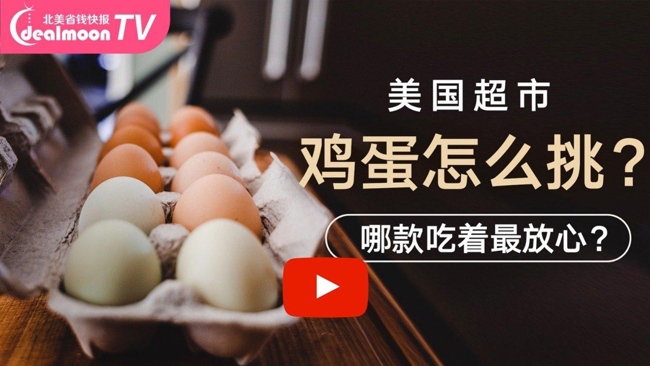 美国超市鸡蛋如何挑选?哪款吃着最放心?