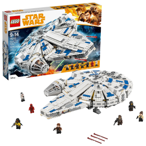 $149.97 (原价$199.99)Lego 乐高 75212 星球大战系列 神速千年隼 1414粒