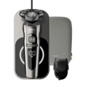 直降170欧 原价469.99欧 折后仅需295.99欧PHILIPS SP 9860/16 干湿两用剃须刀 无线充电