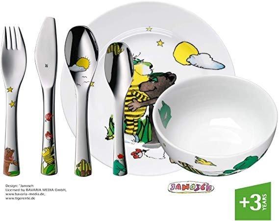 WMF Janosch 儿童餐具六件套