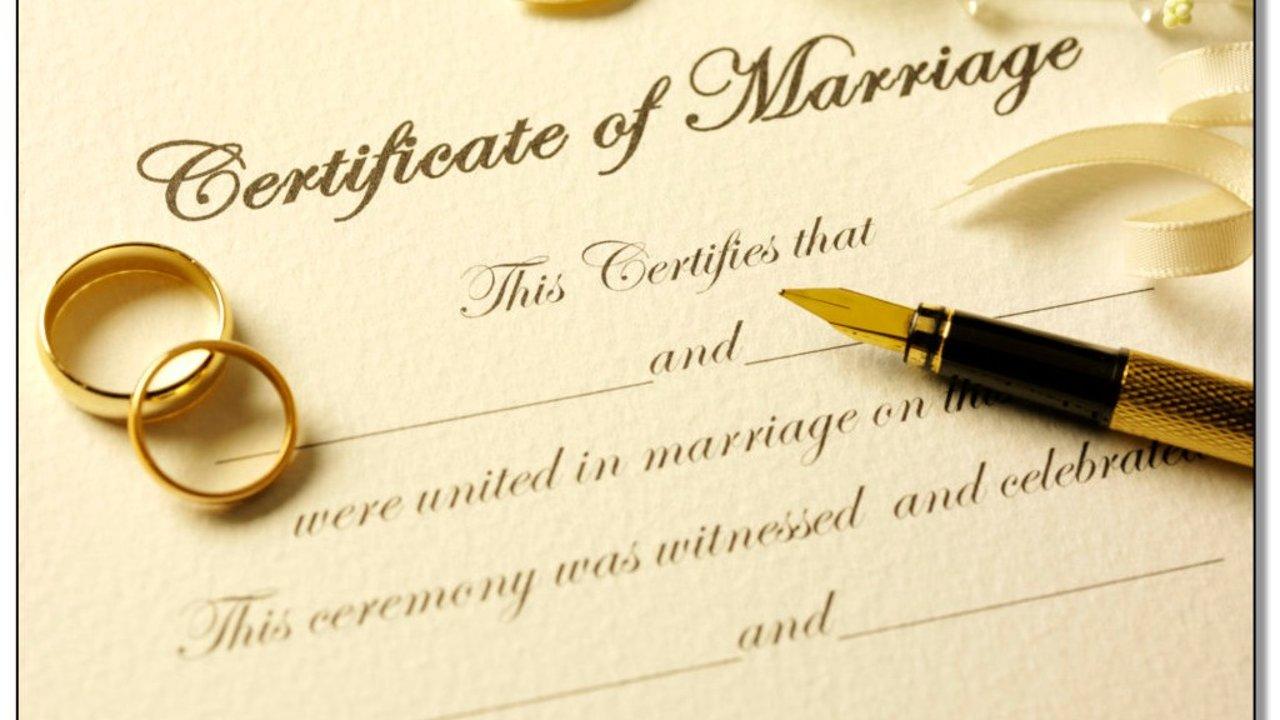 怎么在美国领结婚证?