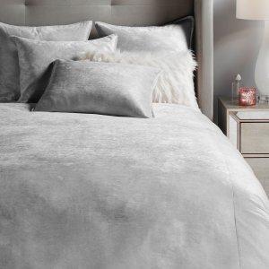 Z GALLERIEAvanti Bedding - Silver | 40% Off Select Bedding & Throws | Collections | Z Gallerie