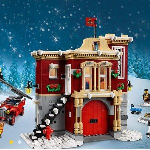 LegoWinter Village Fire Station 10263 | Creator Expert | Buy online at the Official LEGO® Shop US