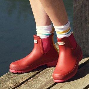 5折起 显瘦长靴$98 免邮Hunter 夏日大促 儿童雨靴$45起 收乔治小王子同款