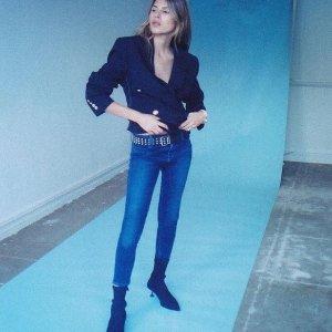 29折起 码数全+速抢 最显腿瘦的仔裤J BRAND大促再次出山 明星们常穿的仔裤品牌热卖