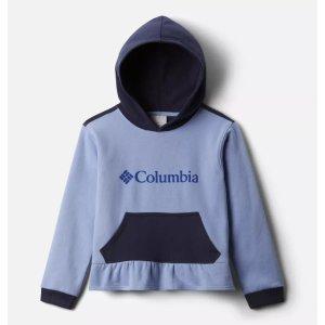 Columbia女童花边卫衣