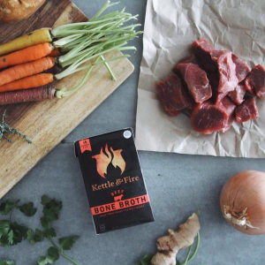 20% off on $40+ purchaseNourishing Natural Bone Broth and Soup@ Kettle & Fire