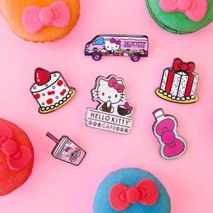 低至4折+满额赠礼Sanrio 精选卡通Hello Kitty、懒蛋君、My Melody 周边热促