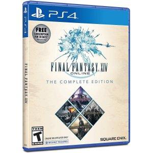 $29.99 (原价$59.99)《最终幻想14》PS4 / PC完整版, 包含全部资料片