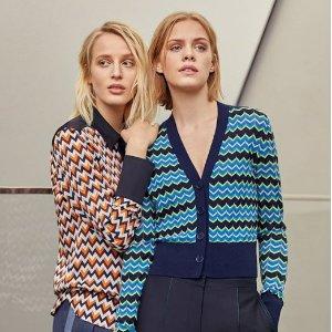 低至3折+额外9折 £40起收毛衣Jigsaw 精选毛衣、外套促销热卖